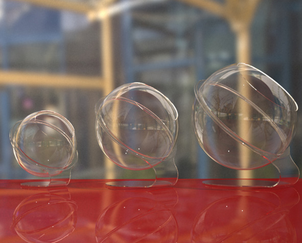 Acrylic-Dome-Attached-to-Stands