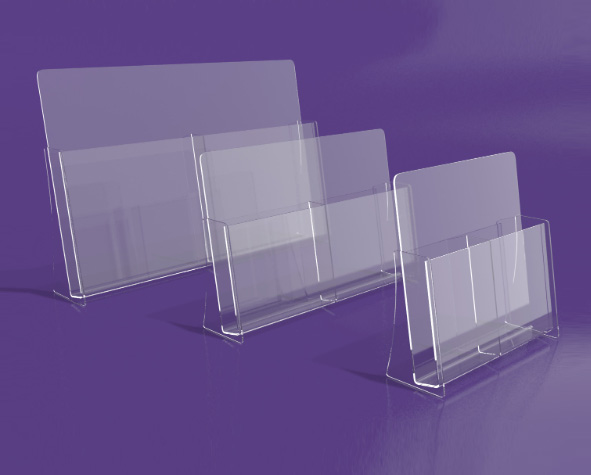 Brochure-Holder---Double-Compartment