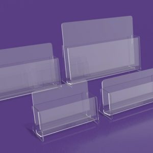 Brochure Holder - Single Compartment, Business Card and Leaflet holder