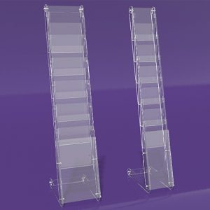Brochure-Holders-Flat-Pack-printed-media-Display-Stand