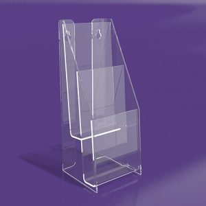 Brochure-Holders-Tiered-Two-Pocket