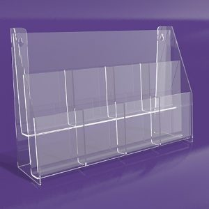 Brochure-Holders-Two-Tiered-Eight-Pocket