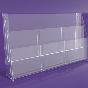 Brochure-Holders-Two-Tiered-Six-Pocket-Holder