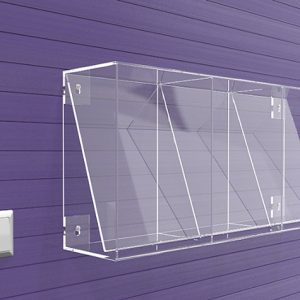 Brochure-Holders-Wall-Fixing-3-Pocket-Display-frame