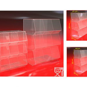 Container-Box-Nine-compartment-Bin